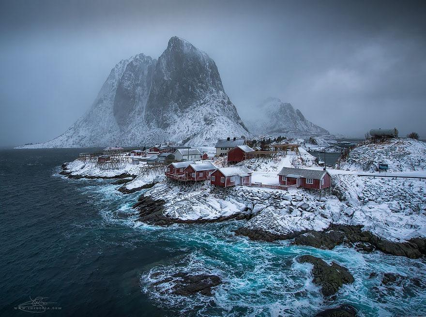Хамнёй, Норвегия.