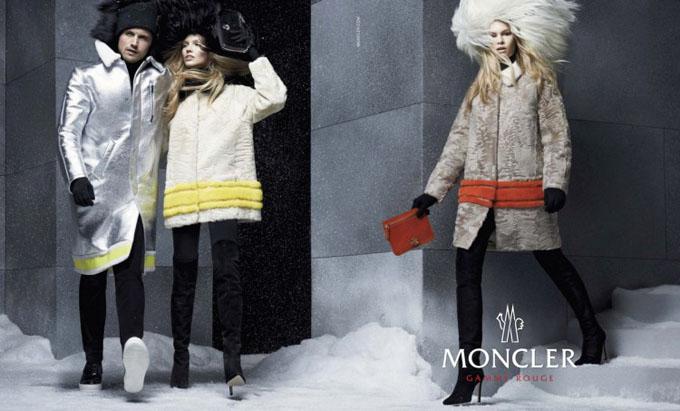 Рекламная кампания Moncler осень-зима 2014