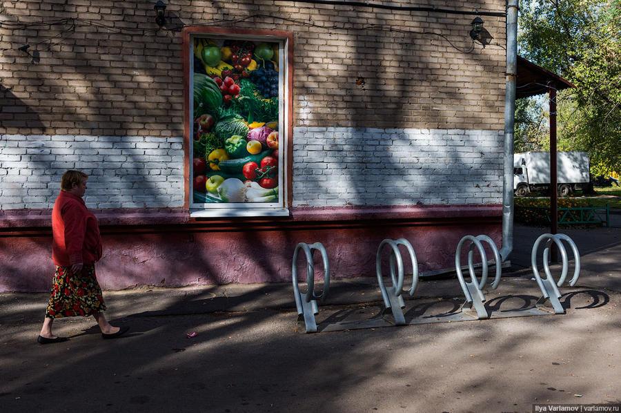 15. И, конечно, в Капотне есть велопарковки!