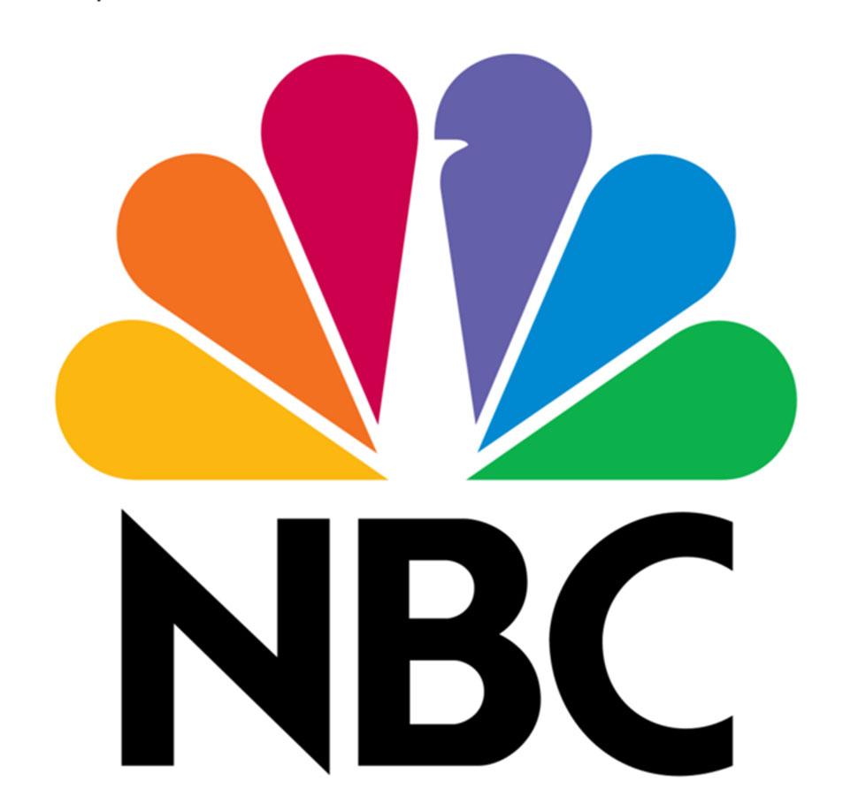 Цветные лепестки в логотипе телеканала NBC — это павлиний хвост, а пробелы сливаются в тело самого п