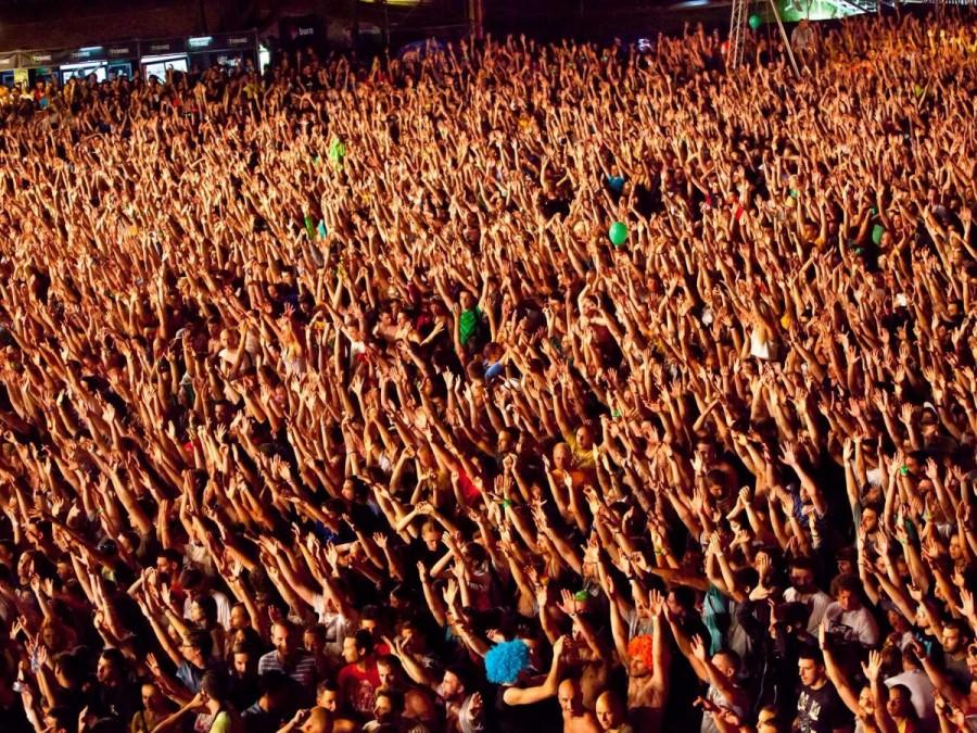 15. Изначально мероприятие EXIT в Нови-Сад, Сербия, задумывалось как студенческий протест. На сегодн