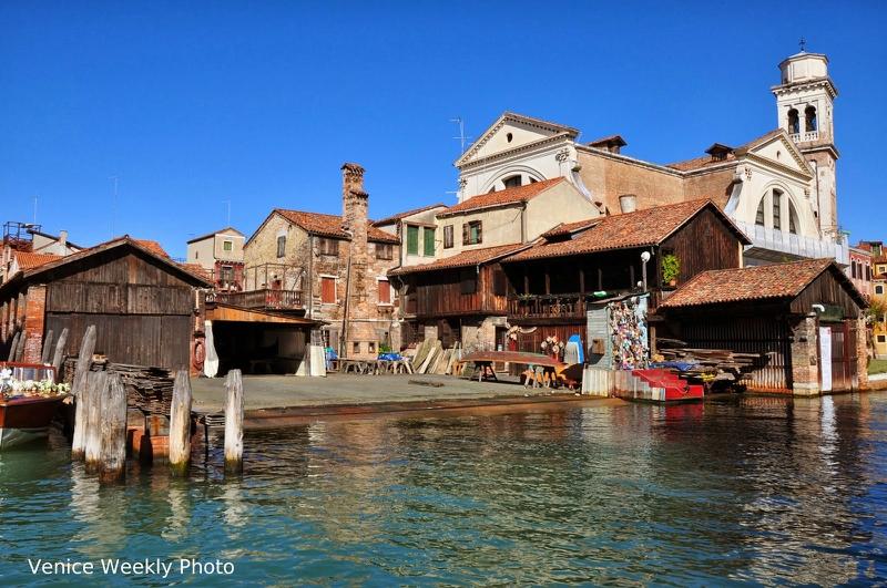 Что посмотреть в Венеции: верфь сан-тровазо