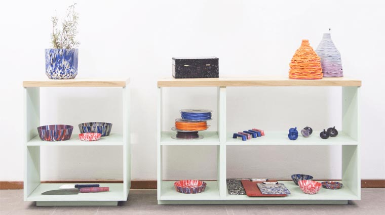 Precious Plastic - This shop recycles your plastic bottles to create objects!