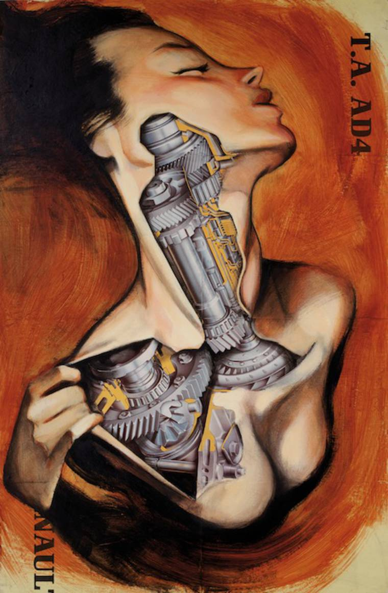 Anatomias - The mechanical pin-ups of Fernando Vicente