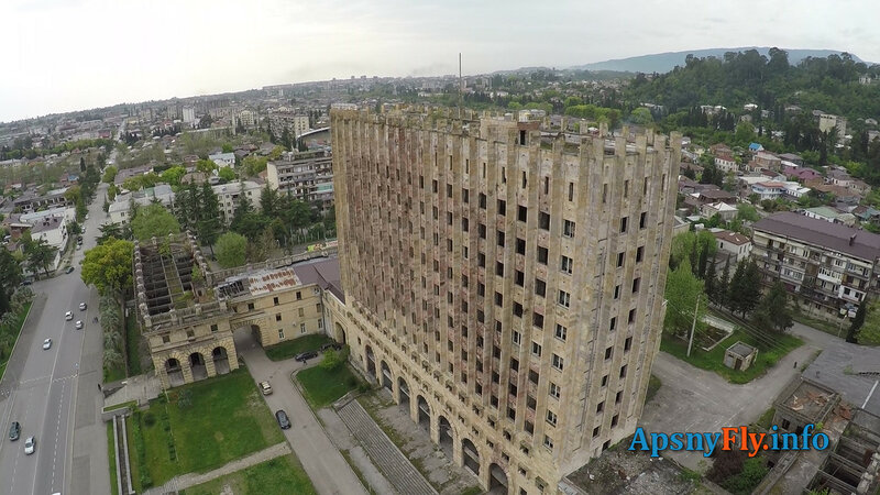 Абхазия вид сверху 5