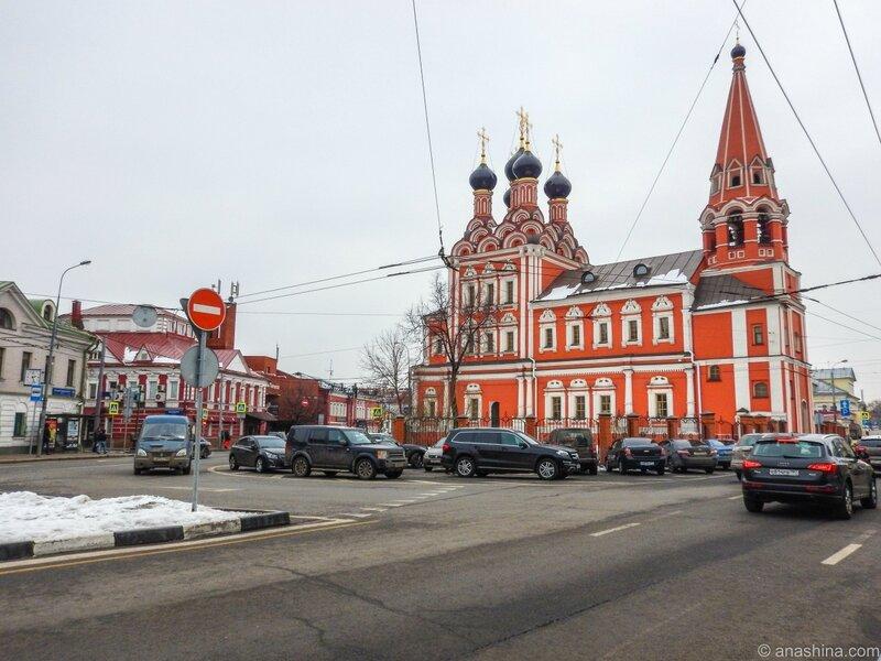 Церковь Святого Николая, Таганка, Москва
