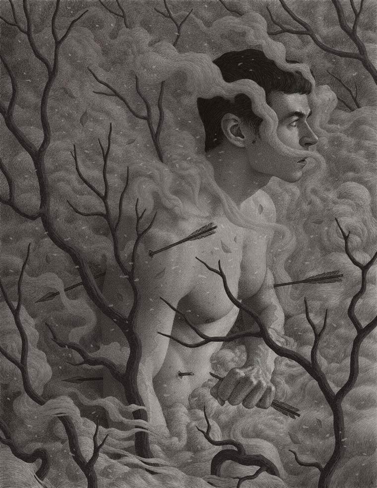 Dark Web – The illustrations of Boris Pelcer