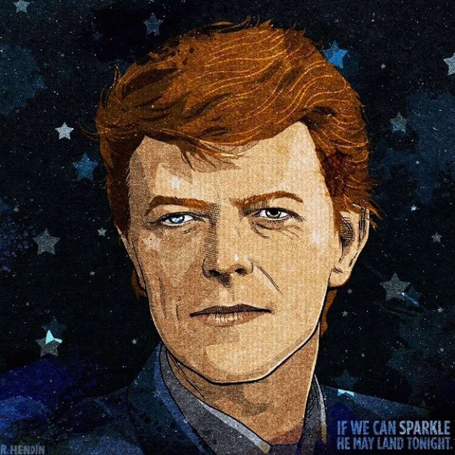 Tributes to David Bowie Across the World