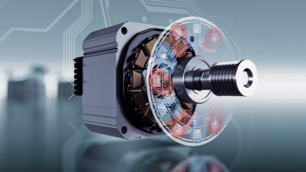 Siemens IQDrive бесщеточный мотор BLDC (Brushless Direct Current Motor)
