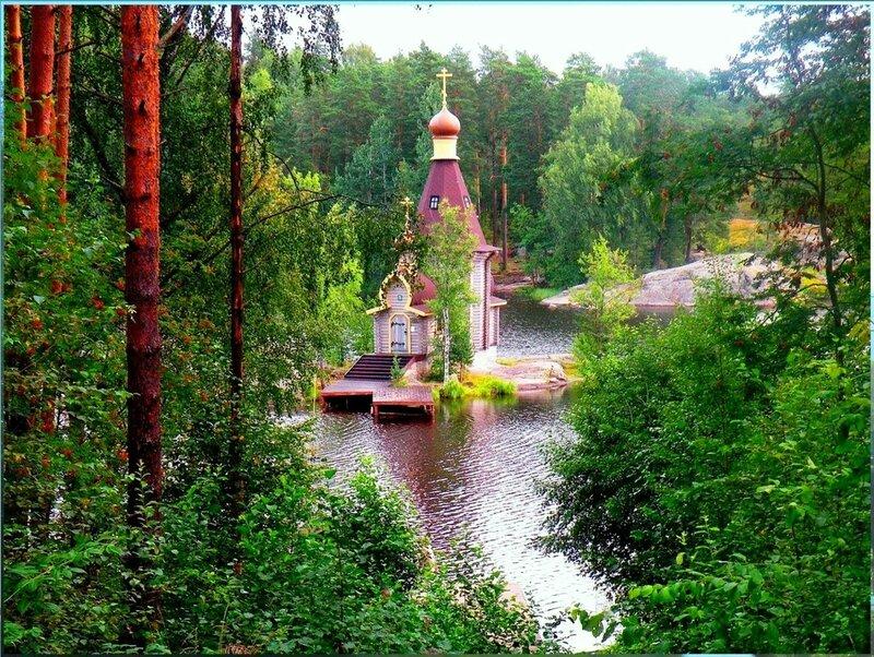 Храм Апостола Андрея Первозванного, река Вуокса. 001.jpg