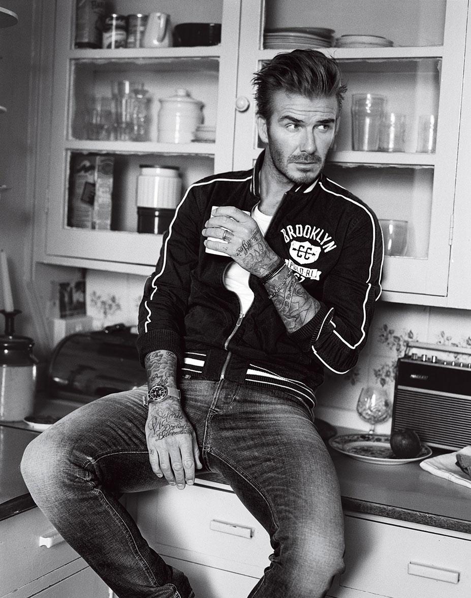 David Beckham / Дэвид Бекхэм в журнале GQ US, апрель 2016 / фотограф Alasdair McLellan