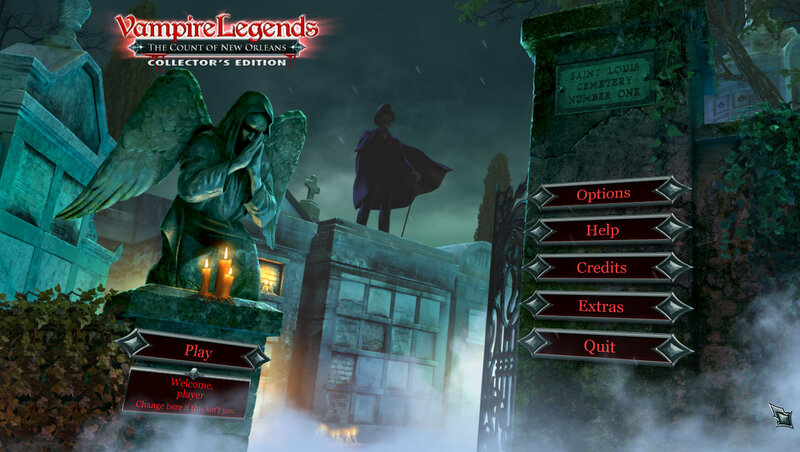 Vampire Legends: The Count of New Orleans CE