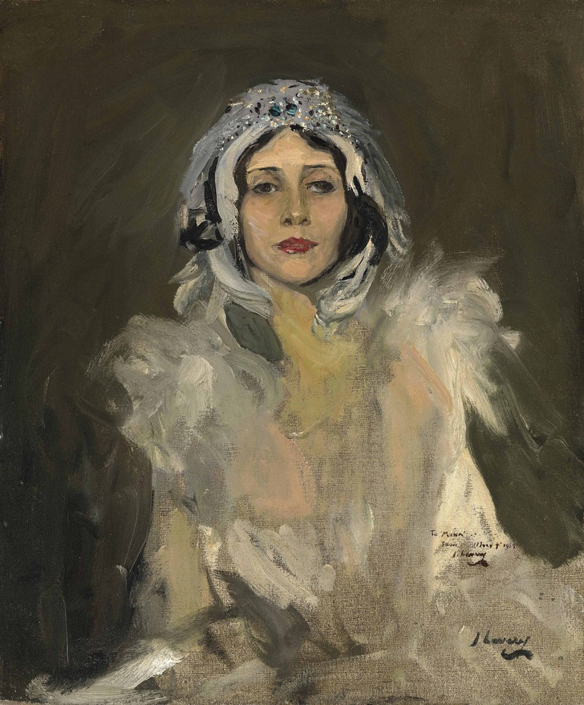 Sir John Lavery (1856-1941) Anna Pavlova as The Swan..png