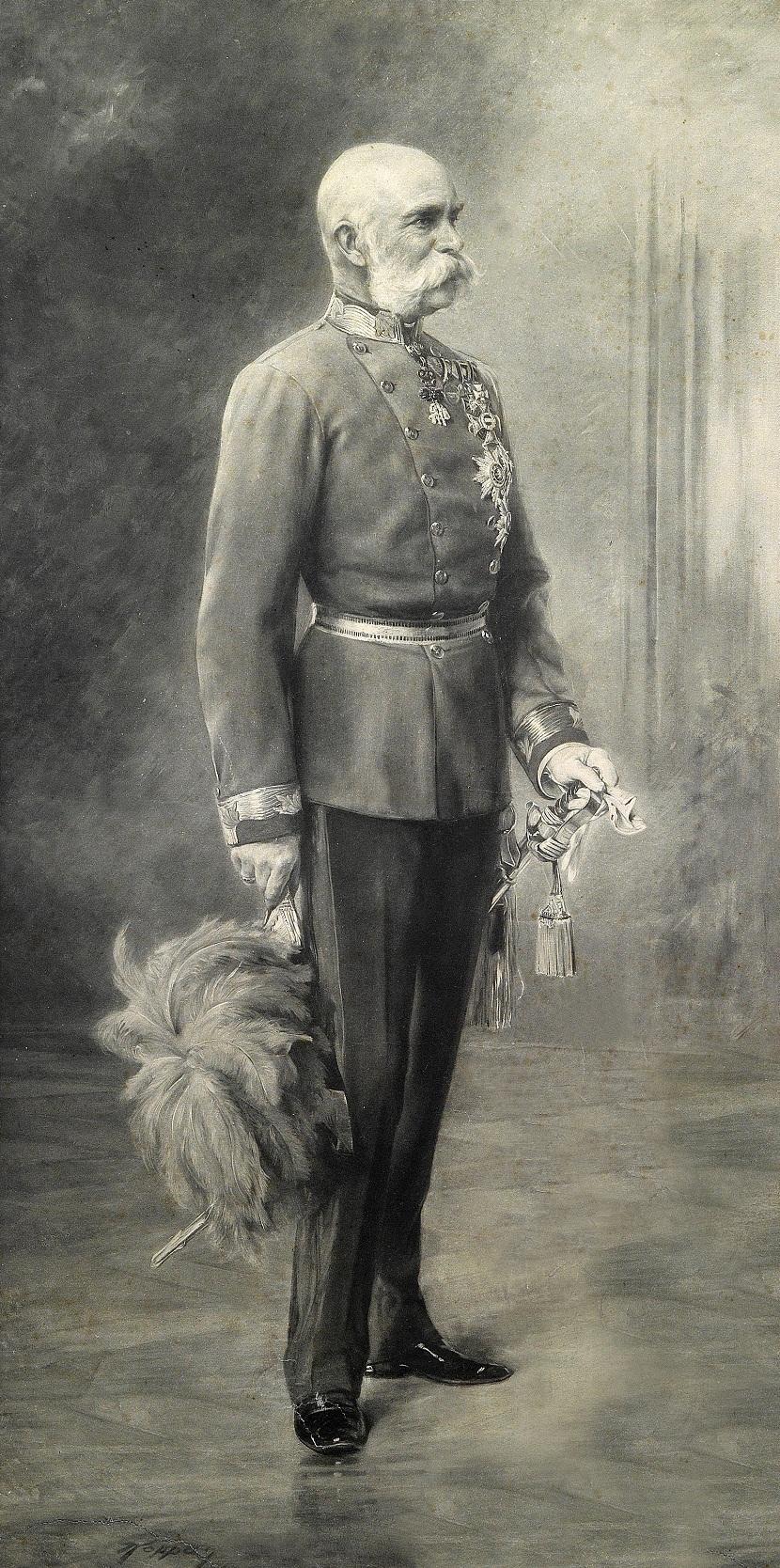 Император Франц Иосиф из Австрии