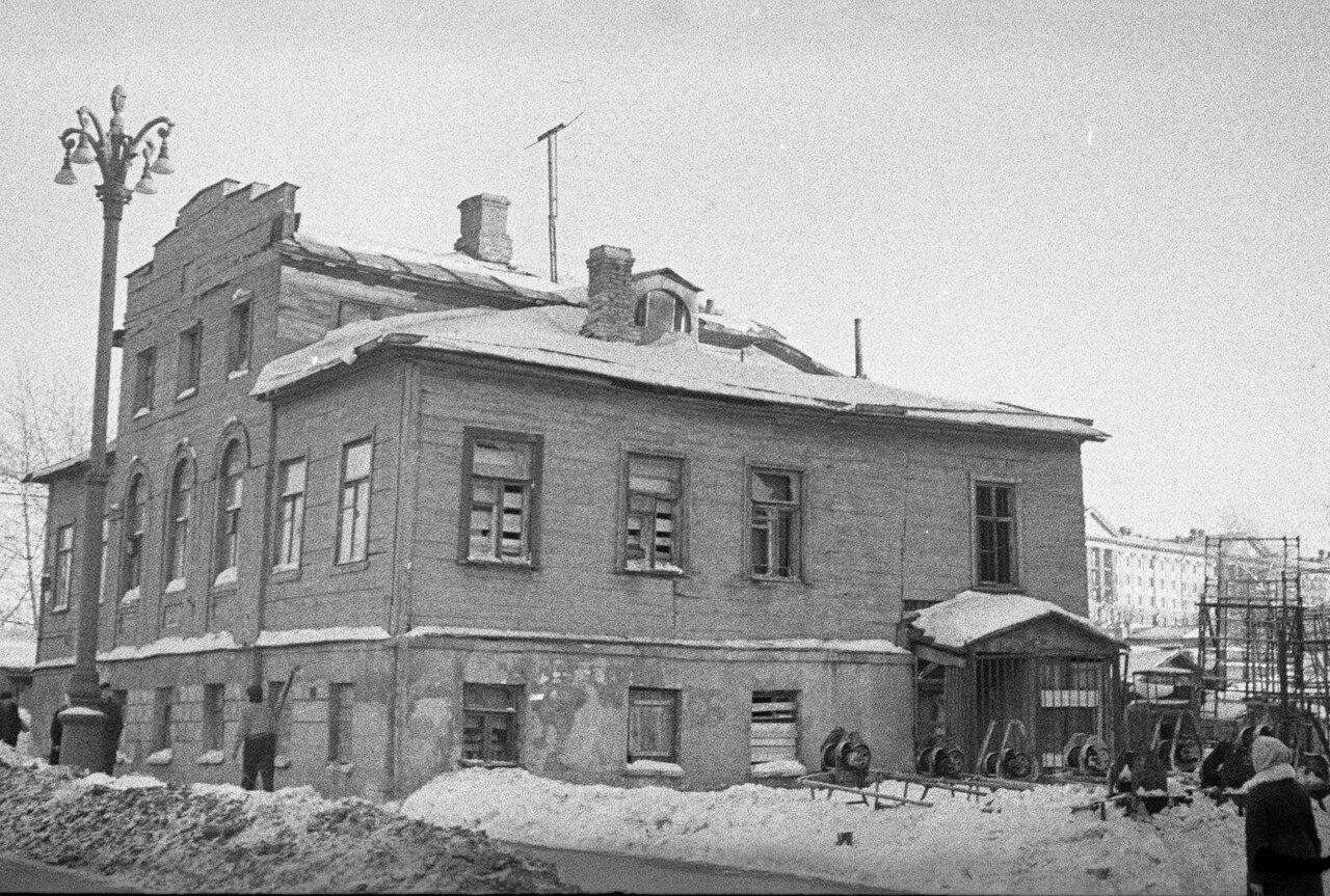 1960-е. Кудринский переулок