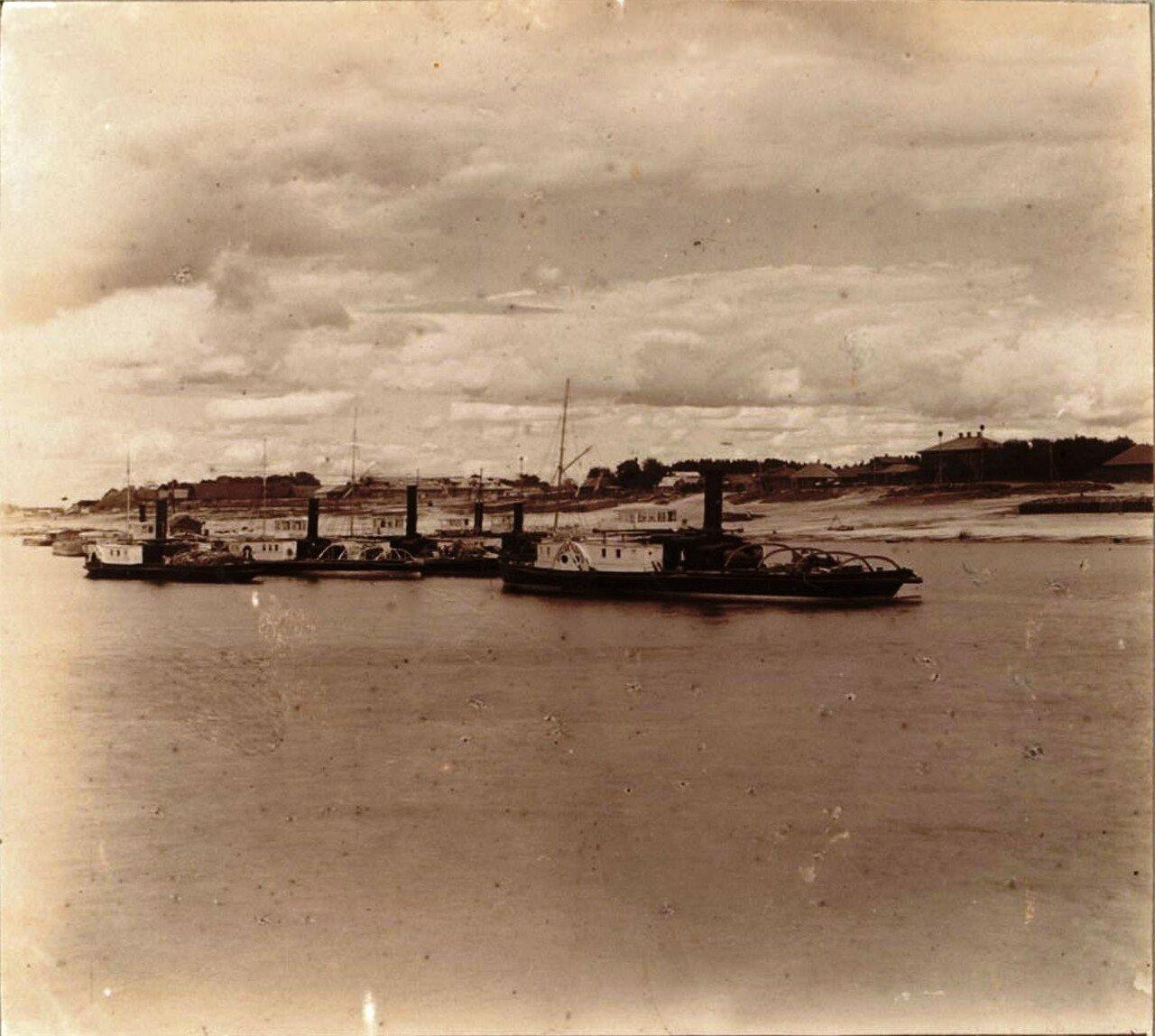 Буксирные пароходы