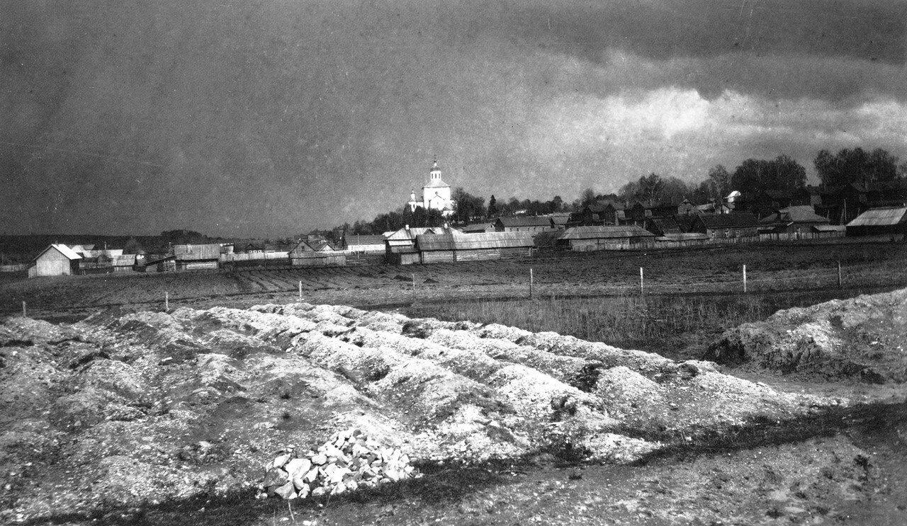 Западная окраина Свирской слободы. 1909