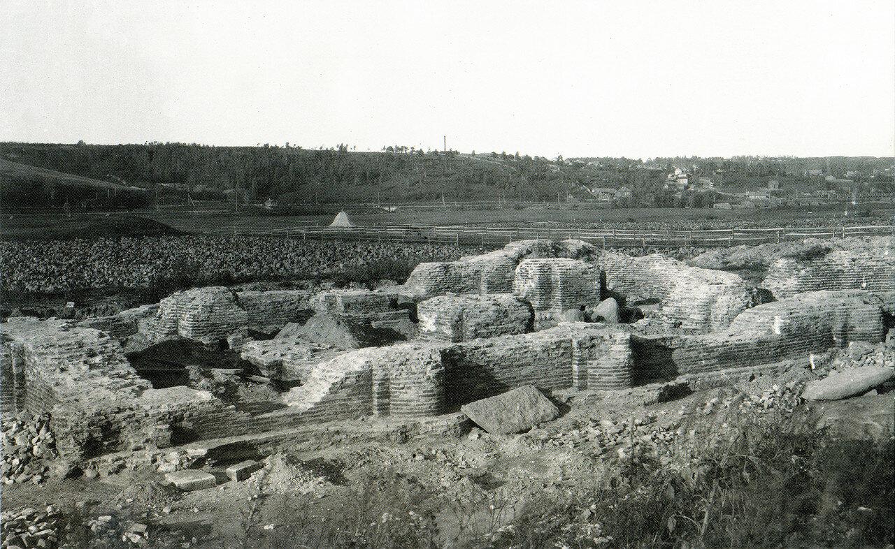 Руины Борисоглебского собора на Смядыни. 1909