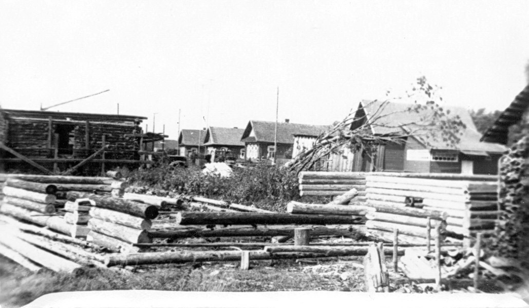 1970. Строительство нового магазина