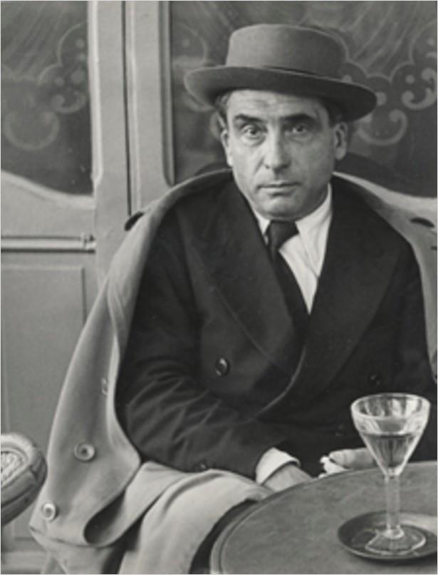 1948. Пьер Реверди, на террасе Орленка, Бульвар Распай