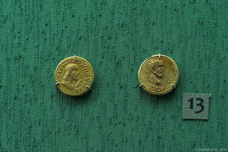Монета эллинов перстни с рубином 583 пробы