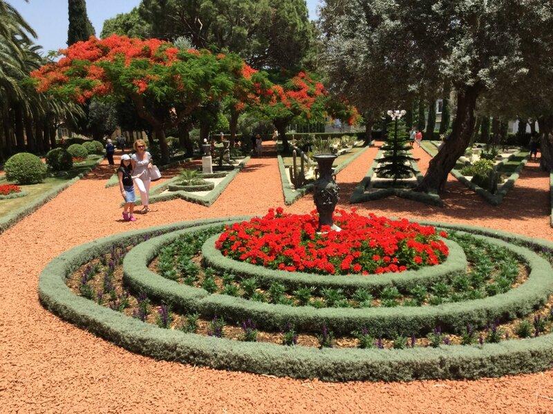 Бахайские сады: идеально ухоженные клумбы