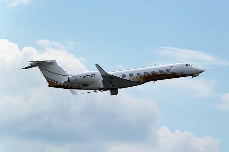 Gulfstream G550 (RA-10202) 0730_D804577