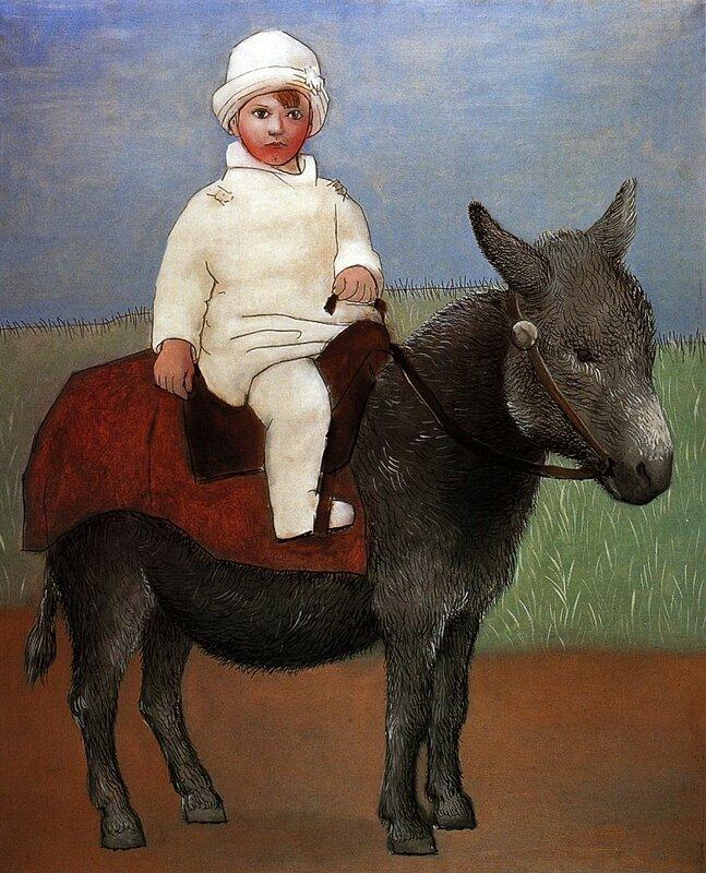 PIC - 0245 -- 1923 Paul sur un âne.jpg