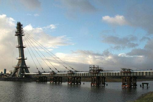 Новый питерский мост назван в честь Ахмата Кадырова