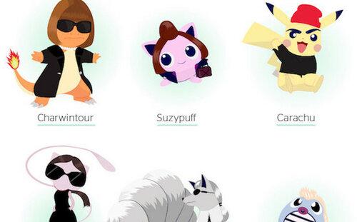 Звезды мировой моды стали героями Pokemon GO