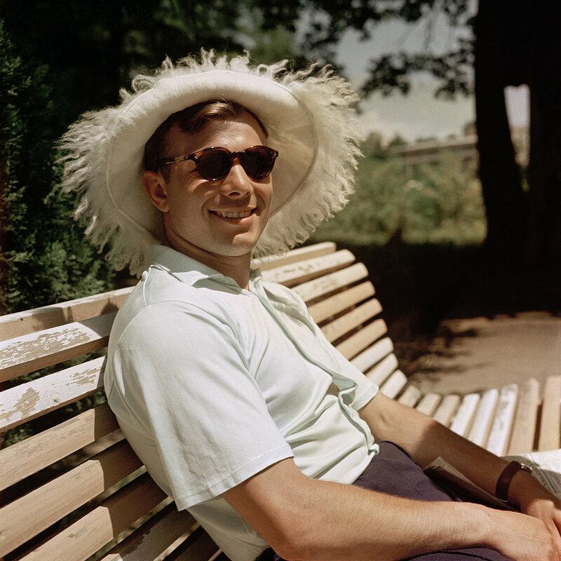 1961 Юрий Гагарин в Сочи. Ю.Абрамочкин.jpg