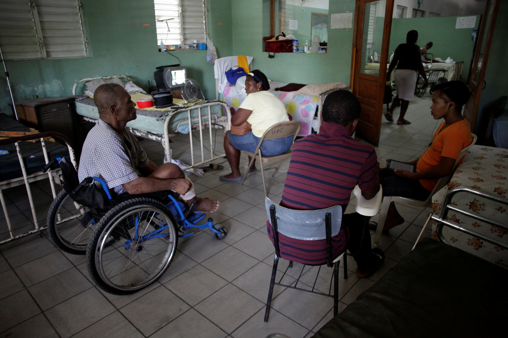Больница в Гаити