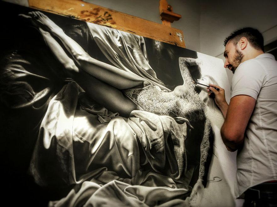Гиперреалистичные картины Эмануэле Дасканио