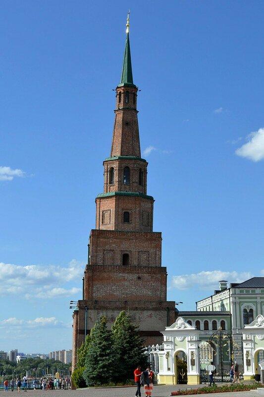 Казанский Кремль. Башня Сююмбике.