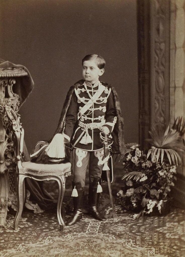 2 Портрет великого князя Павла Александровича  Россия, 1869 г.  Фотограф Бергамаско К.И. 1830-1896.jpg
