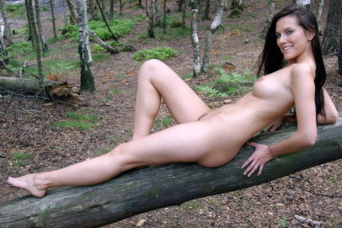 В лесу. 18+