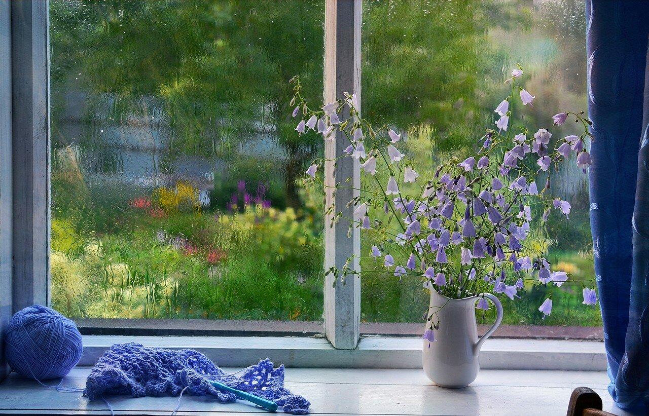 Картинки с дождем и добрым утром красивые