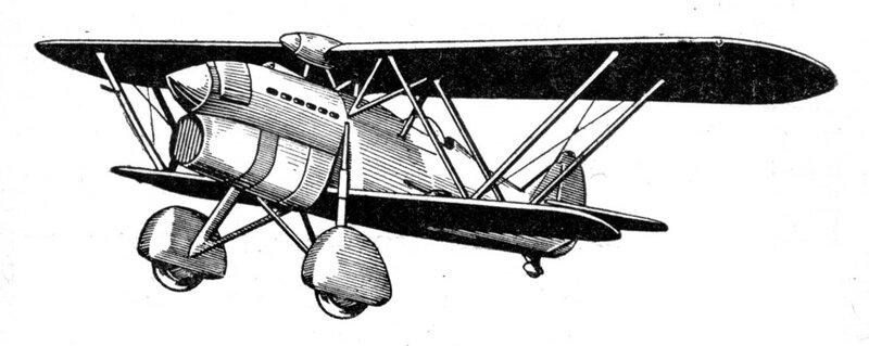 Силуэты итальянских самолетов (1939) 002