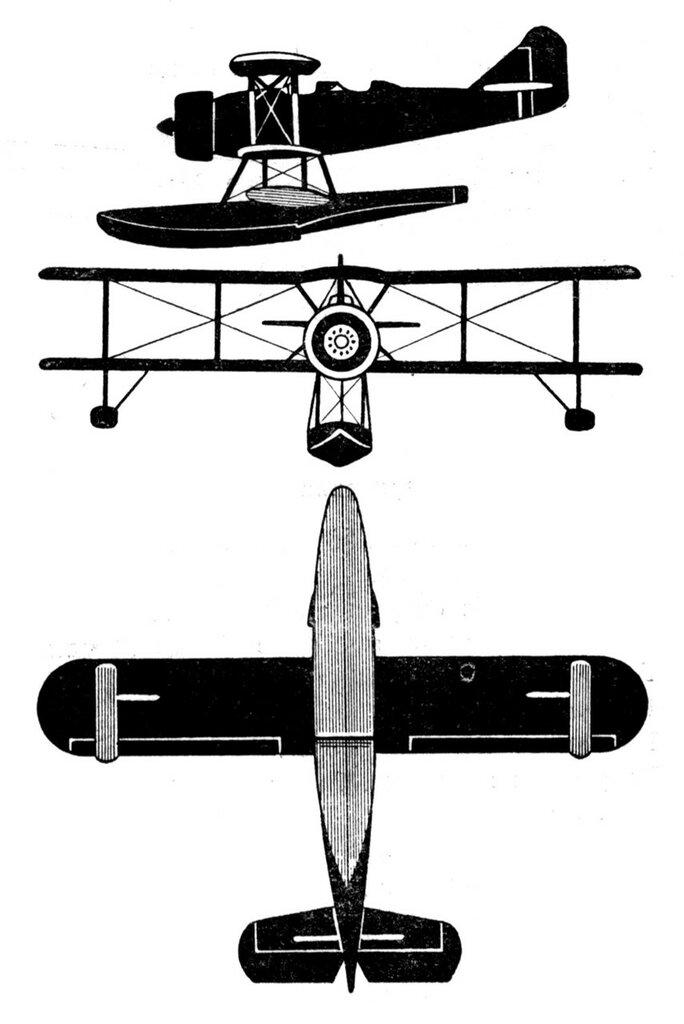 Силуэты итальянских самолетов (1939) 061