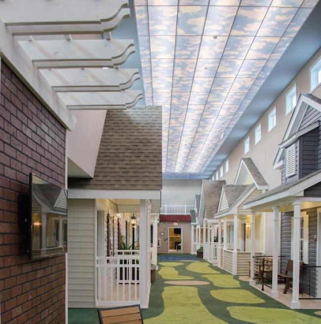 © Lantern Of Madison / facebook.com  Здесь даже есть главная улица, где пациенты могут собират