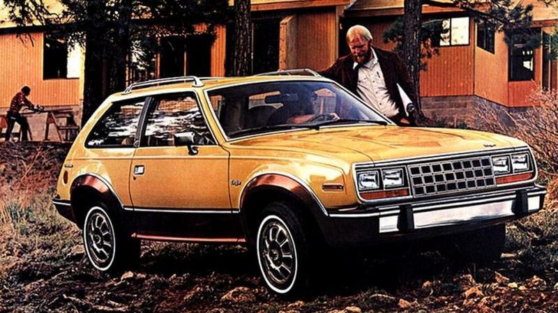 AMC Eagle Kammback '1981–82 В 1983 году хэтчбеки сняли с производства, как наименее попу
