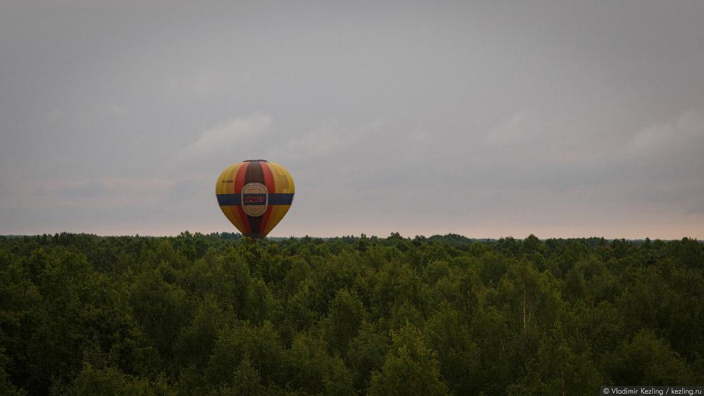 30. Мы пролетаем над непроходимыми новгородскими лесами и болотами. Урони что-нибудь из корзины