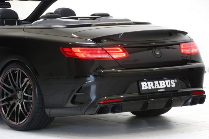 Brabus представил самый мощный в мире кабриолет