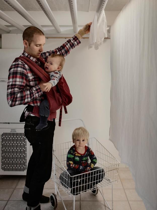 8. Ингеман Олсен, 37 лет, IT-консультант. Ингеман уже был ранее в отпуске со своим сыном Джоэлом и с