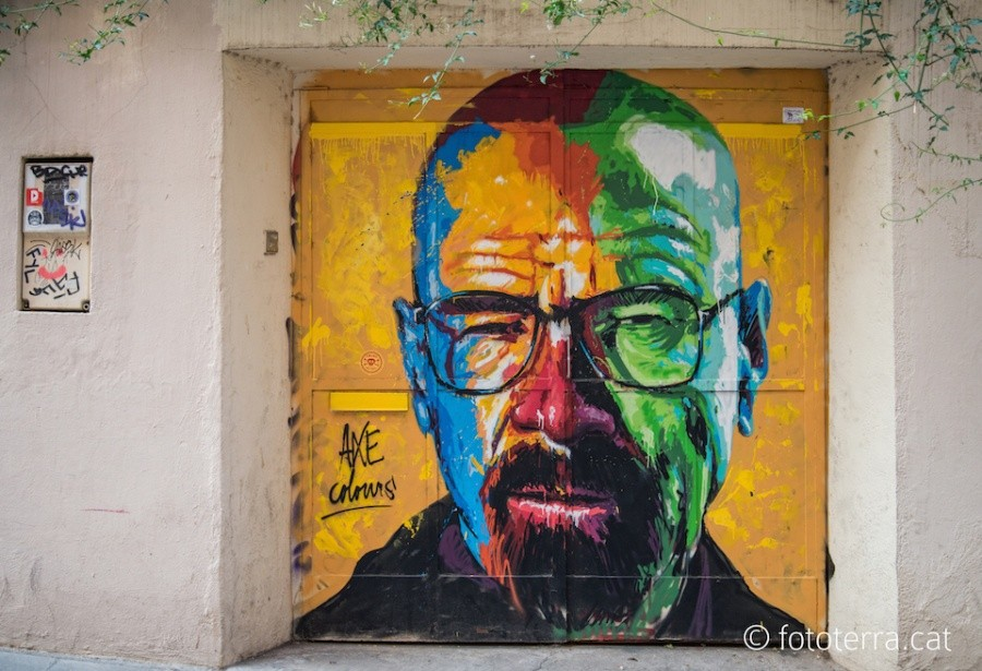 3. Барселона (Испания) Автор: Axe Colours