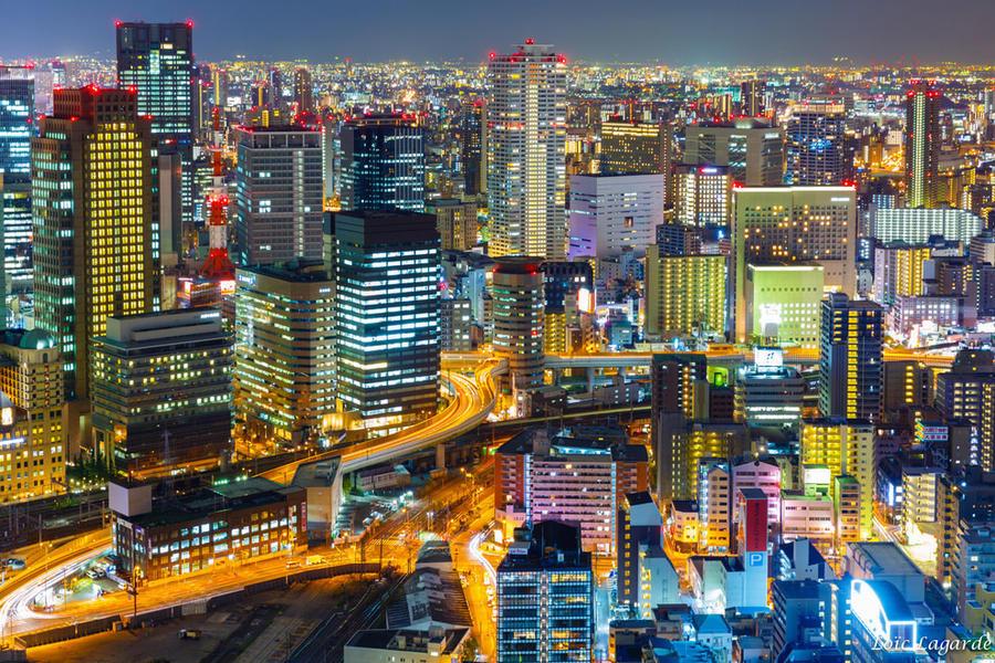 7. Город Осака будто из какой-то компьютерной игры 8. Город Киото просто сказочный