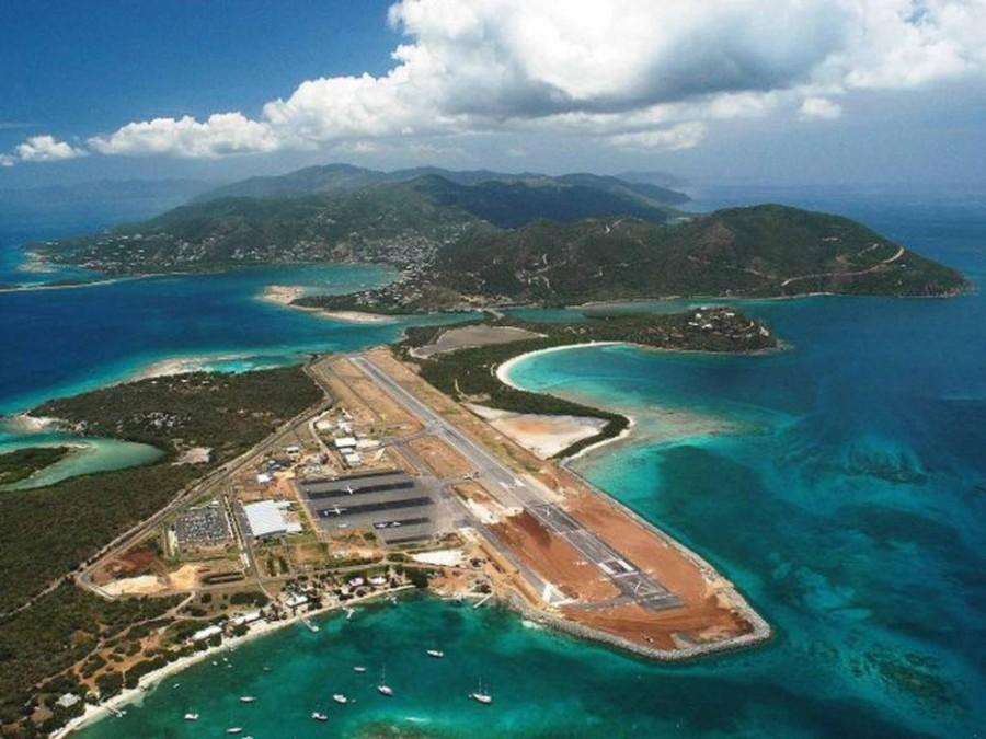 5. Аэропорт на острове Биф.