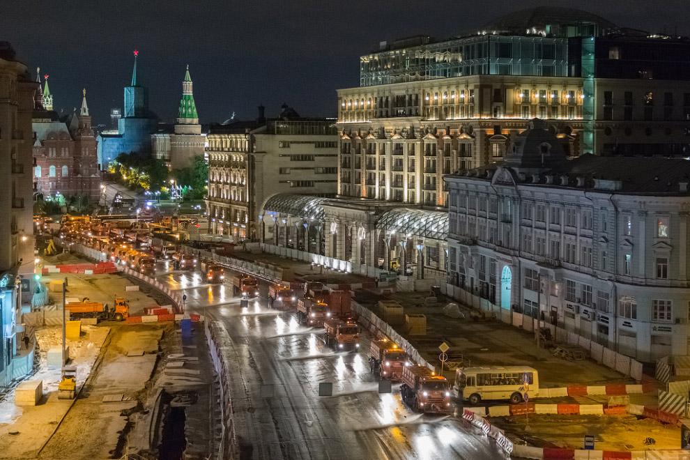Скоро на Тверской появятся новые жильцы — более 100 высоких деревьев. Наконец-то на главную ули