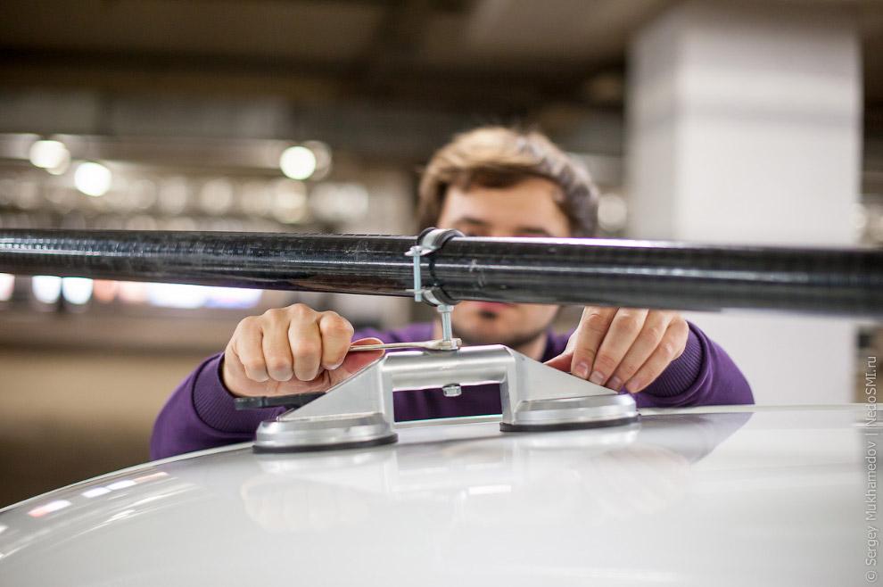 8. Обычно риг делается шестиметровым и обязательно разборным, чтобы конструкцию можно было пере