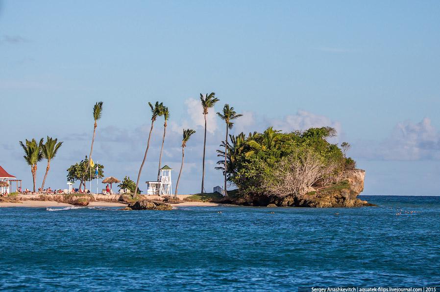 17. Остров находится в непосредственной близости от полуострова Самана, куда часто привозят экс